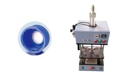 塑料包装桶瓶盖透气膜热熔焊接机