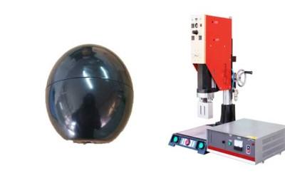 塑料车轮滚轮超声波焊接机焊接视频