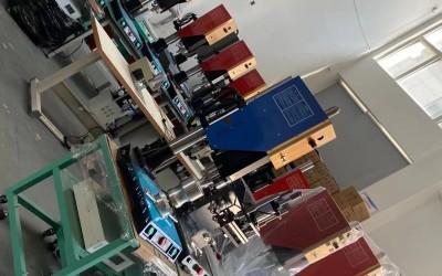 塑料拉链头焊接机