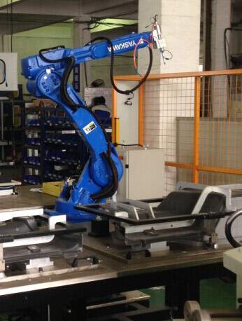 全自动汽车机器人隔音棉超声波焊接机