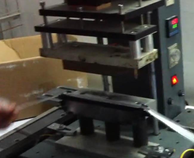 硒鼓封条热熔热压焊接机