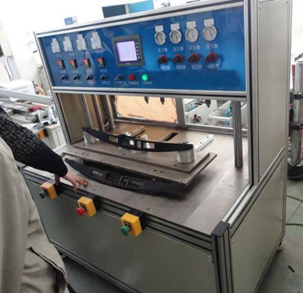 汽车内饰件铜螺母滑台式热熔埋置机