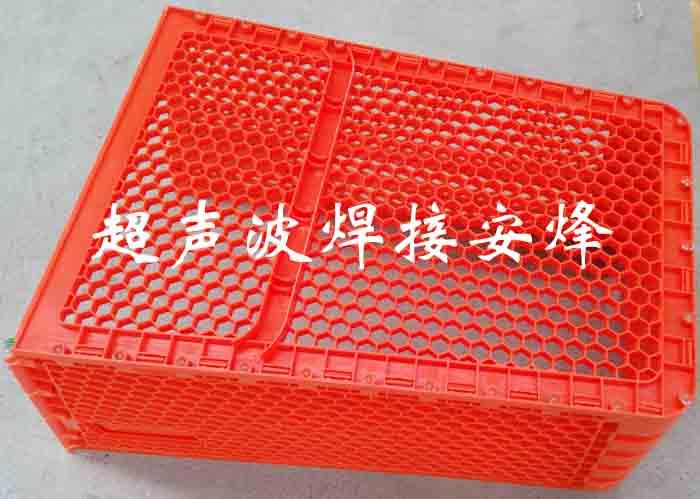 购物车塑料篮框实心柱手持式超声波铆点焊接机