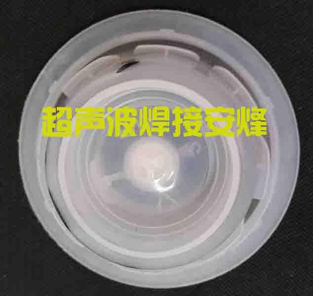 机油桶盖防水透气膜热熔焊接样品