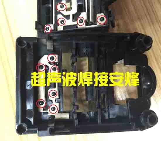 塑料柱与金属片多功能热熔铆点焊接机
